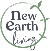 New earth living logo