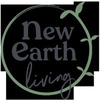 New earth living logo
